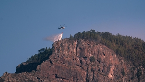 The fire, which began on 17 August, had threatened several natural parks rich in biodiversity