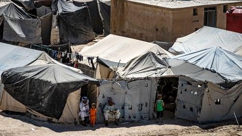 The children are now in the crammed Kurdish-run Al-Hol camp in northeastern Syria
