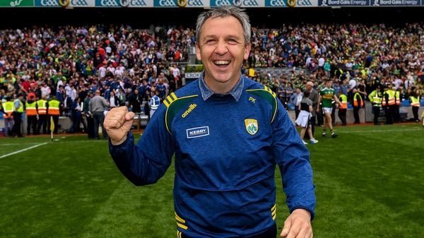 Peter Keane has led Kerry to an All-Ireland final in his first year in charge