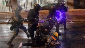 The city government has said violence is pushing Hong Kong to the brink of great danger