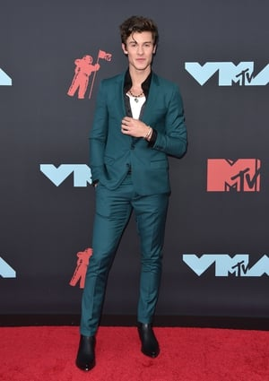 Shawn Mendes in Dolce and Gabbana. Photo: Getty.