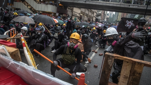 Hong Kong has been rocked by weeks of protests