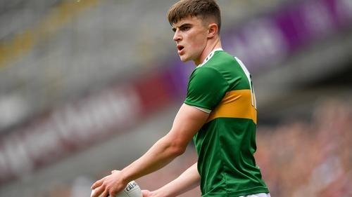 Sean O'Shea is preparing for his first All-Ireland football final at senior level