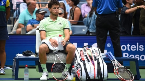 Dominic Thiem bowed at the first round of the US Open