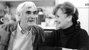 Tom Jordan as Charlie with his on-screen wife Mags, played by Joan Brosnan