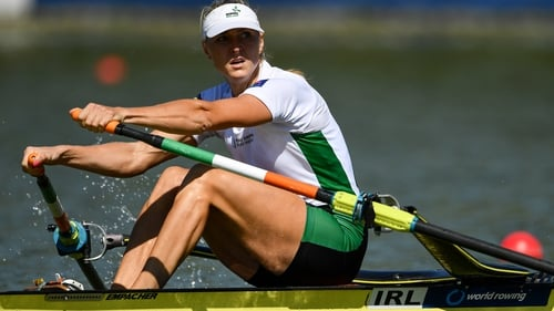 Sanita Puspure has a ticket to Tokyo in her sights