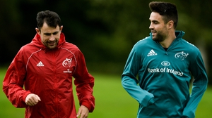 Felix Jones and Conor Murray (r)