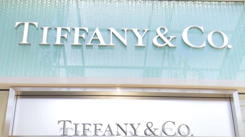 Tiffany's e-commerce sales surgedmore than 80% during the Christmas period