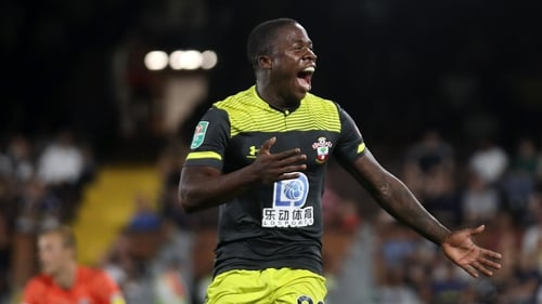 Michael Obafemi looks set to miss Southampton's clash with Manchester United