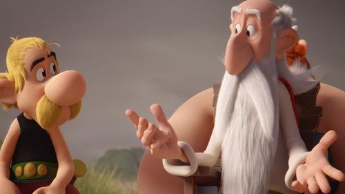 Asterix and Getafix