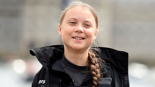 Young activist Greta Thunberg