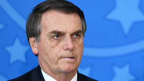 Brazil's President Jair Bolsonaro has banned any burning of fires for 60 days
