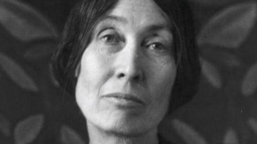 Modernist, anarchist, and Irish-born poet Lola Ridge (Pic © Estate of Marjorie Content)