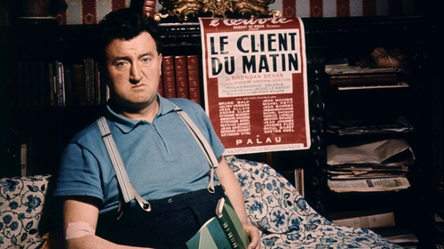 Brendan Behan, some years after his time in Paris.