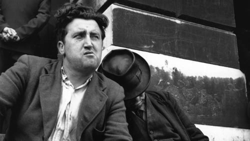 Brendan Behan. Picture credit: Hulton Archive/Getty Images.