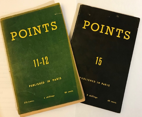 Points magazines from the 1950s.