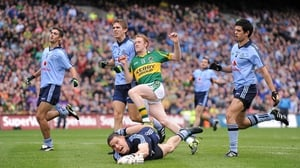 The Gooch scores a goal for Kerry against Dublin in the 2011 All-Ireland final