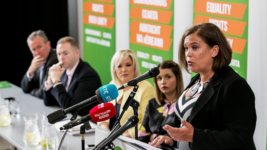 Sinn Féin set out its priorities ahead of the new Dáil schedule