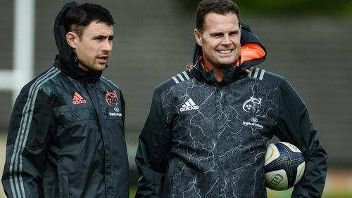Together again - Jones and Erasmus at Munster