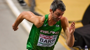 Tom Barr produced a strong run in Switzerland