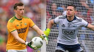 Kerry net-minder Shane Ryan is playing in his first All-Ireland final while Dublin's Stephen Cluxton goes in search of a sixth Sam Maguire