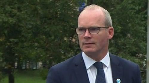 Coveney tells Raab to produce viable alternatives to backstop