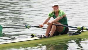 Sanita Puspure has qualified the women's single sculls boat for the Olympic Games