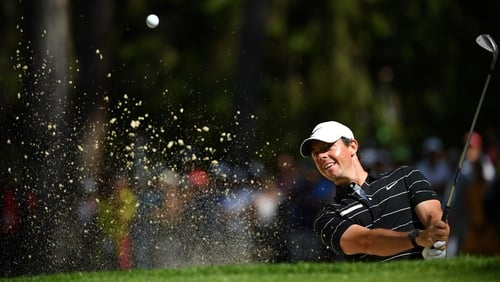 McIlroy is just one shot behind Gavin Green at the summit of the leaderboard