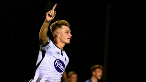 Daniel Cleary scored twice for Dundalk
