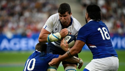 It finished 47-19 to France