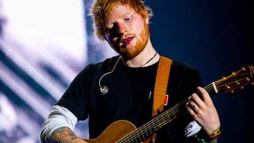 Ed Sheeran has just finished his record-breaking tour