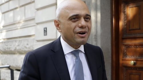 British finance minister Sajid Javid to outline plans for the UK financial services sector in the coming months