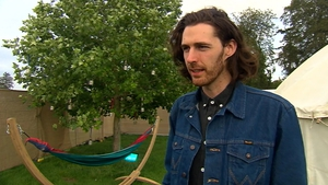 """Hozier - """"If I can I'd love to release something before the end of the year, but we'll have to see how we go"""""""