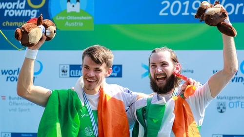 McCarthy and O'Donovan are World Champions