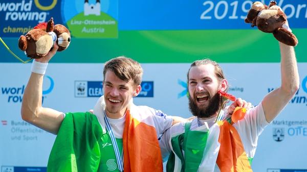Paul O'Donovan (R) and Fintan McCarthy have enjoyed previous success