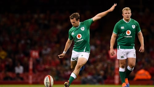 Jack Carty will start only his second game for Ireland