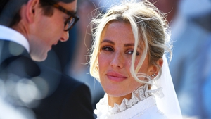 Ellie Goulding and Caspar Jopling All wedding photos: Press Association