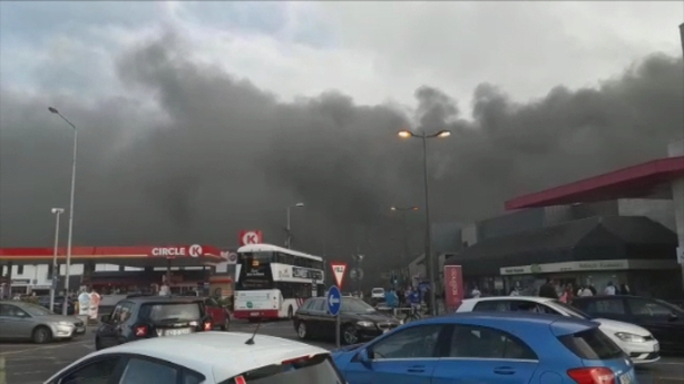Cars Destroyed In Cork Shopping Centre Fire