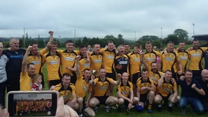 Asdee celebrate their North Kerry Division 2 title