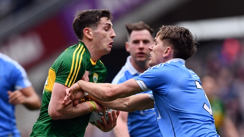 Kerry and Dublin will meet in Croke Park on Sunday afternoon