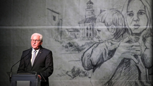 Frank-Walter Steinmeier said Germans committed crimes against humanity in Poland