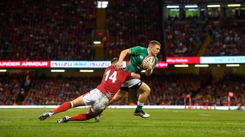 Andrew Conway put in a good shift in Cardiff on Saturday