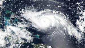 Hurricane Dorian has sustained wind speeds of 257km/h
