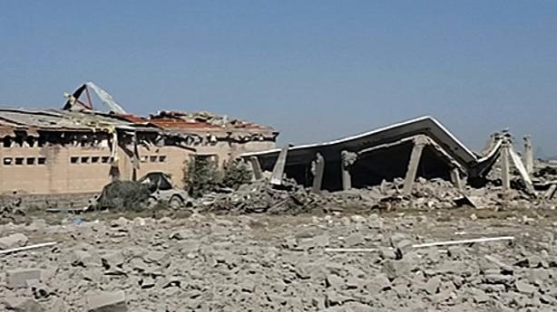 Over 100 killed by Saudi-led air strike on Yemen detention centre: Red Cross