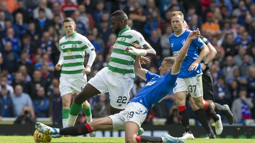 Odsonne Edouard could miss this weekend's clash with Rangers
