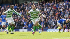 Hayes found the net a couple of times for Celtic