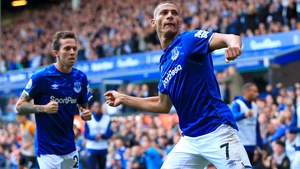 Richarlison celebrates the winning goal