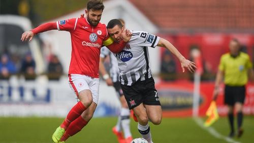 Sligo defeated Dundak 2-1 earlier in the season