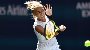 Ashleigh Barty bowed out of the US Open
