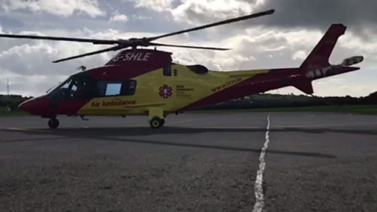Demands for HSE to bail out ICRR air ambulance